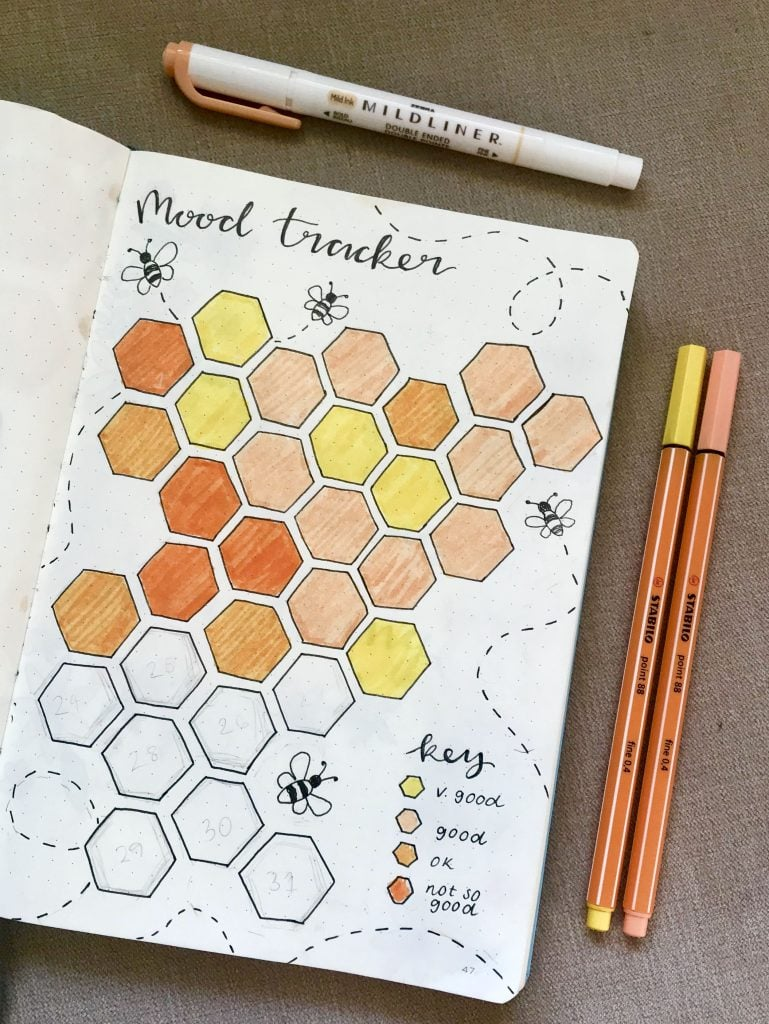 bee positive mood tracker