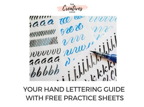 Hand Lettering Guide For Beginners