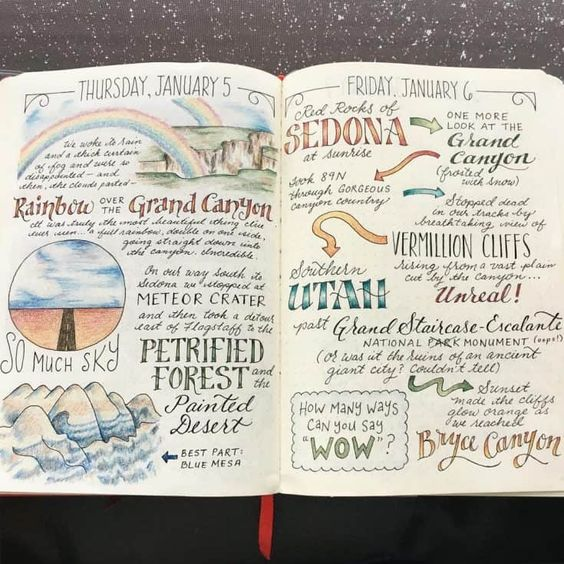 colorful travel story ideas