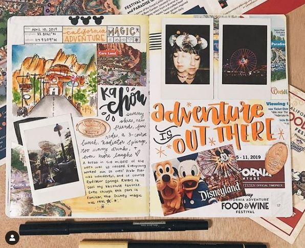 Adventure Is Out There traveler's notebook