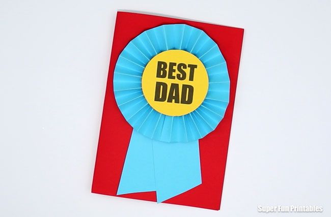 best dad award fathers day cards