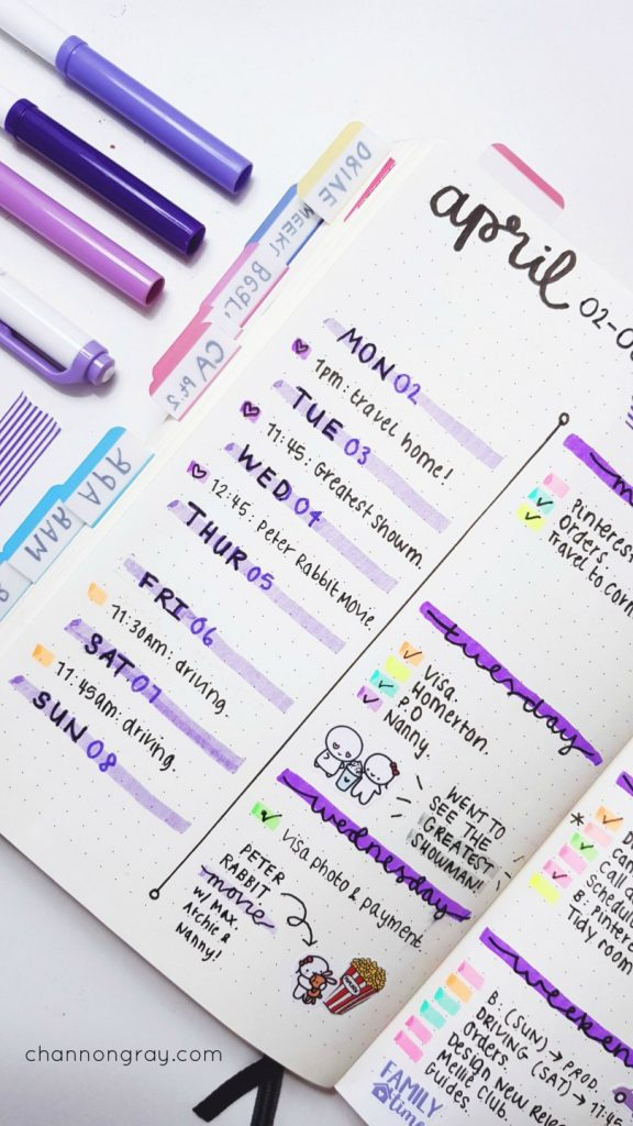 planner key ideas