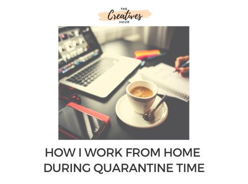 work from home guide for creatives