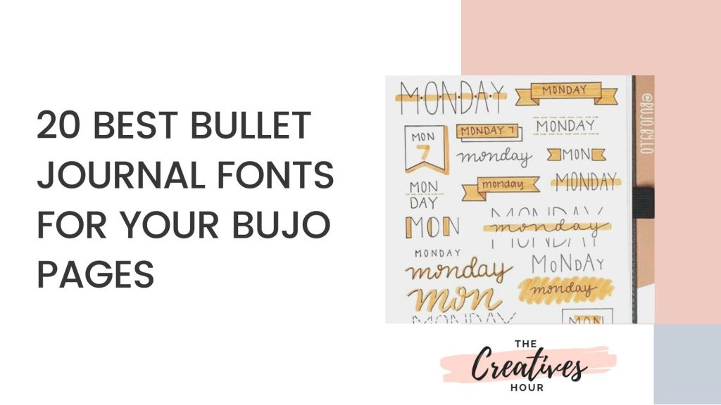 BULLET JOURNAL FONT