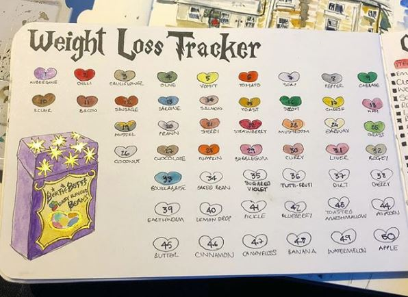 weight loss tracker ideas