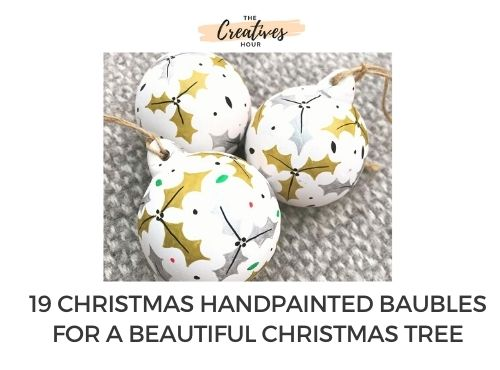 Christmas Handpainted Baubles