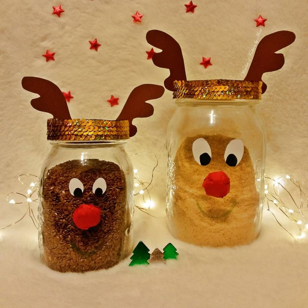 Christmas in a Jar Idea