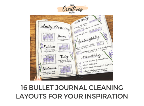 bullet journal cleaning