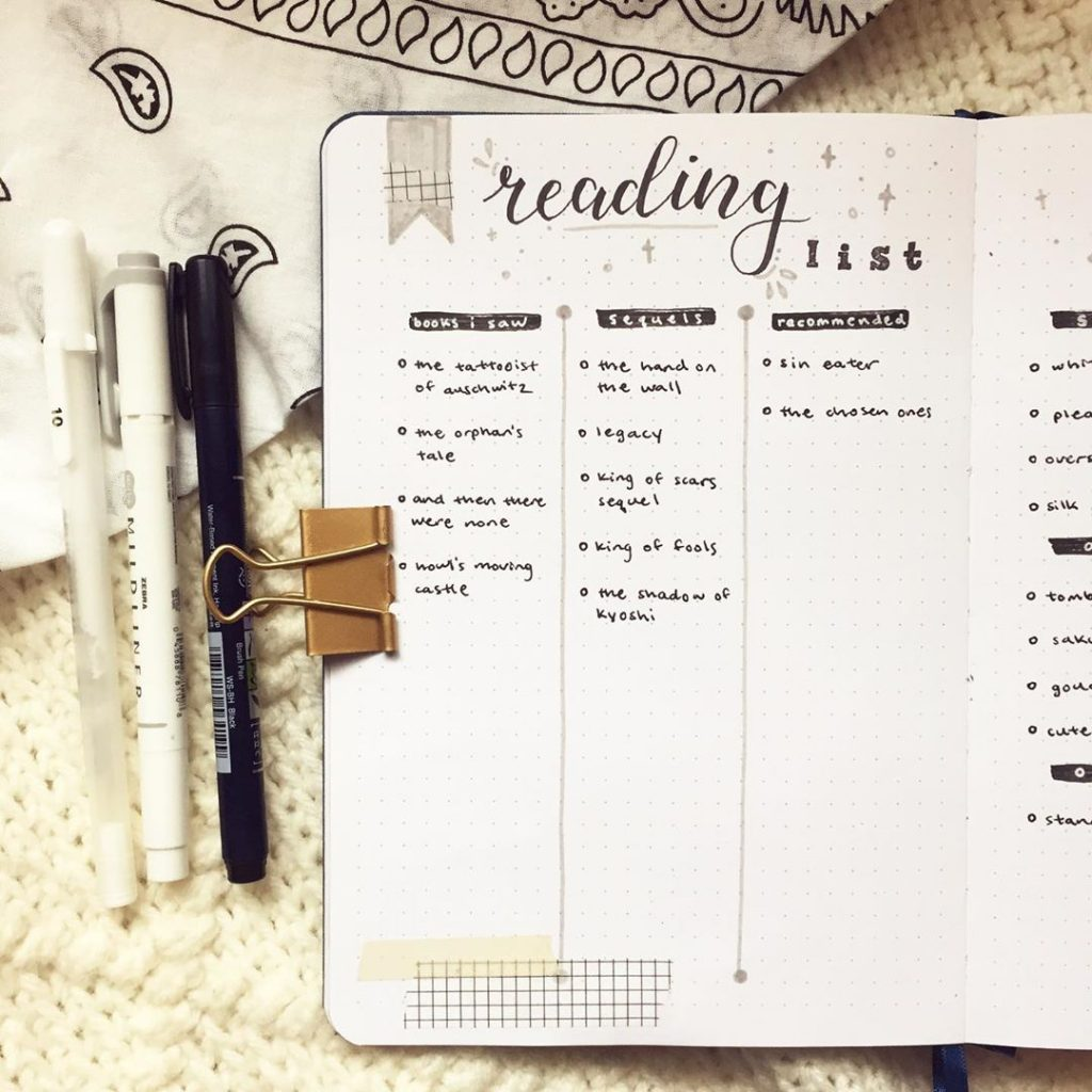 Reading Lists and Reading Goals 6