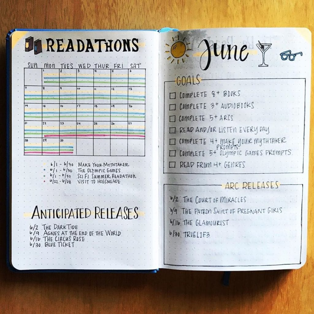 Reading Trackers 6