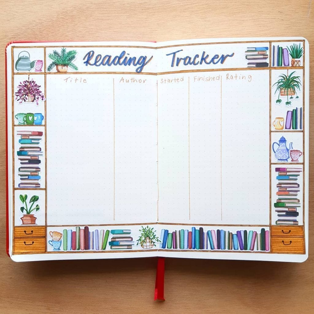 Reading Trackers 9