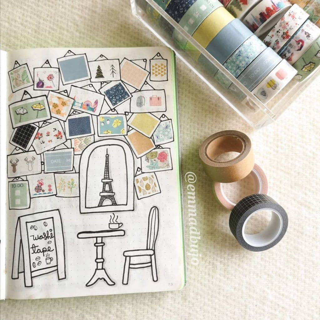 Washi Tape Swatches Page Ideas 10