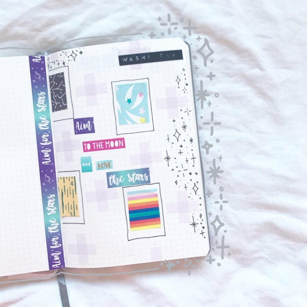 Washi Tape Swatches Page Ideas 8