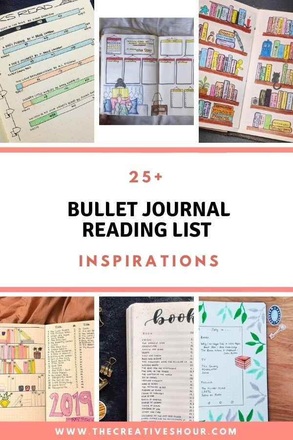 bullet journal reading list