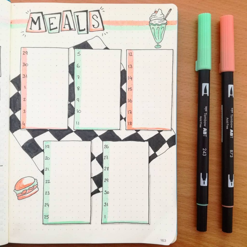 Meal Log or Meal Tracker 2
