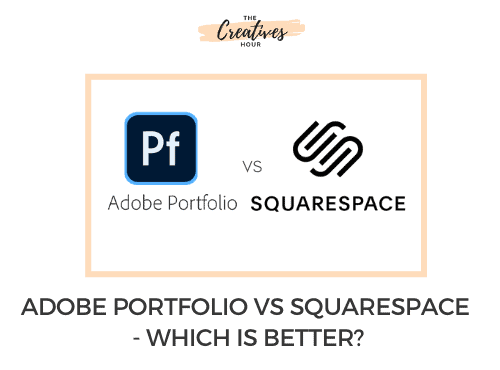 Adobe portfolio vs Squarespace