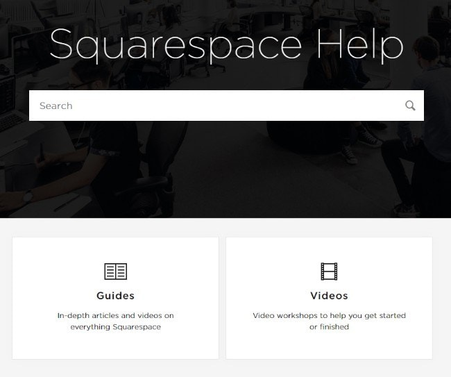 Squarespace support
