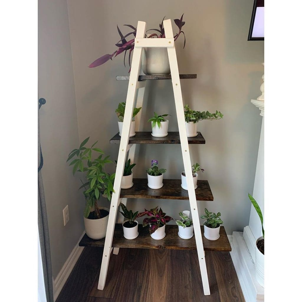 DIY Plant Stand 16