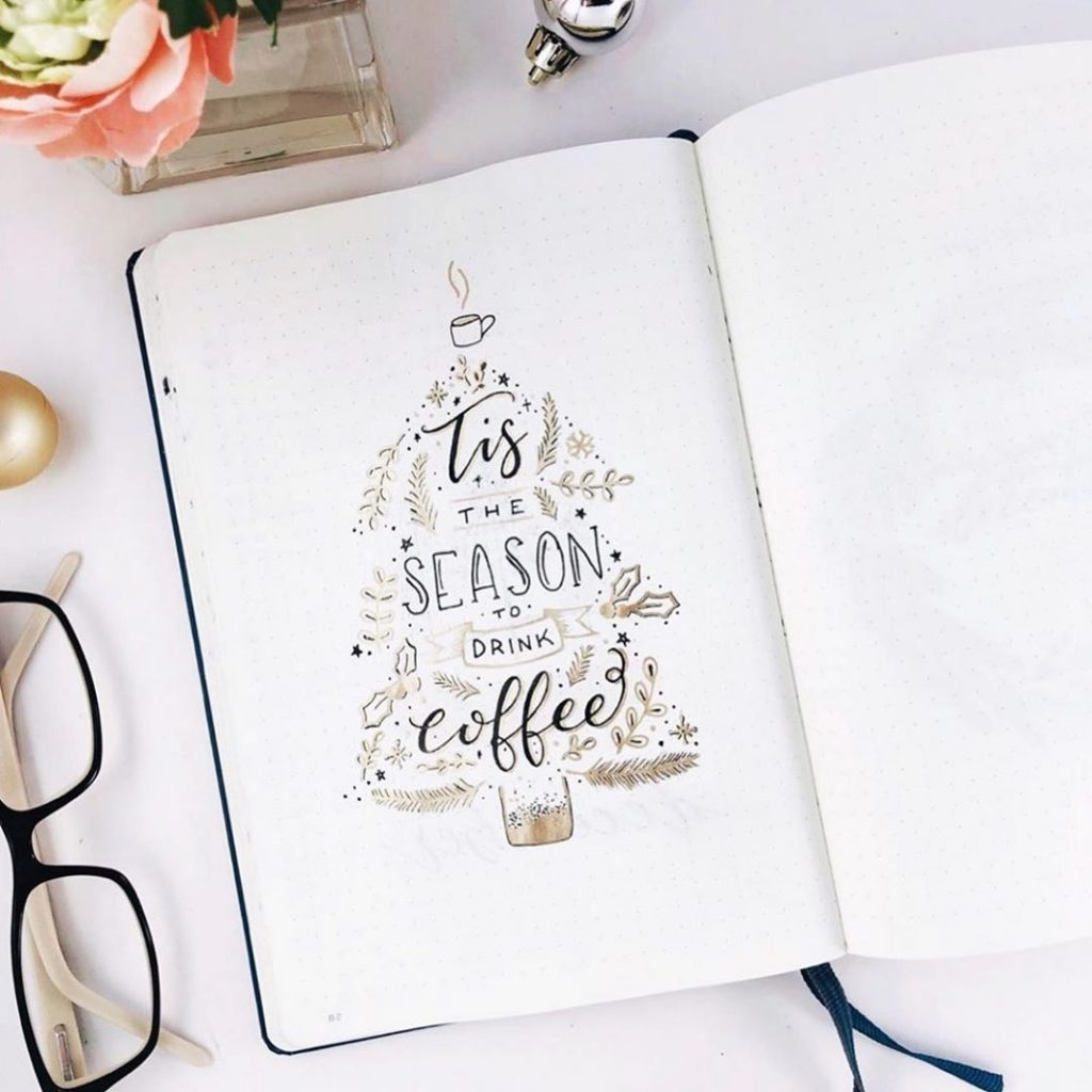 December Bullet Journal Christmas Quotes 4