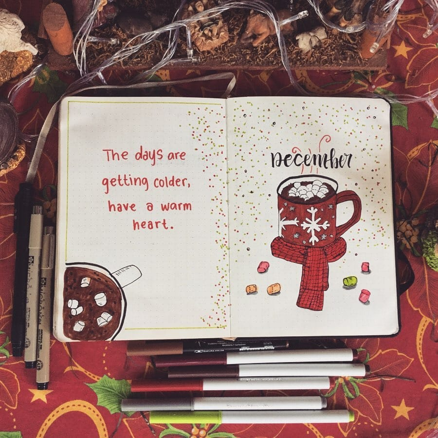 December Bullet Journal Christmas Quotes 5