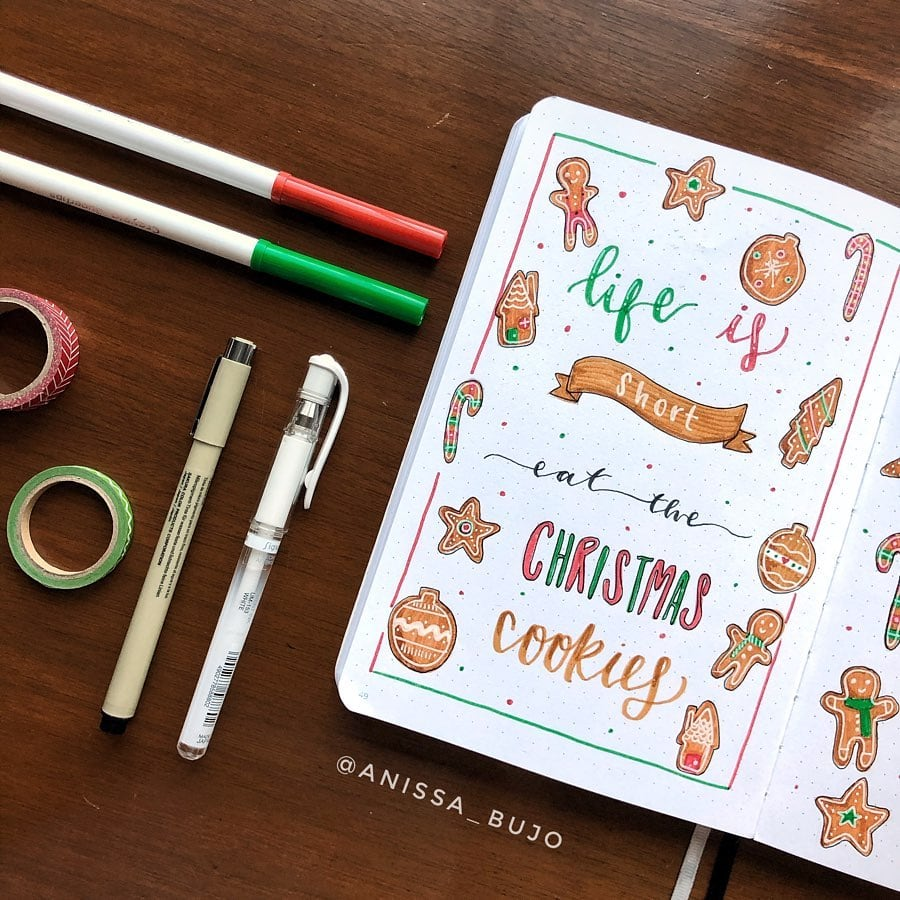 December Bullet Journal Christmas Quotes 7