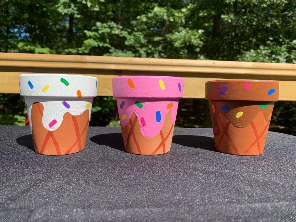 Other creative hand painted pot ideas 4