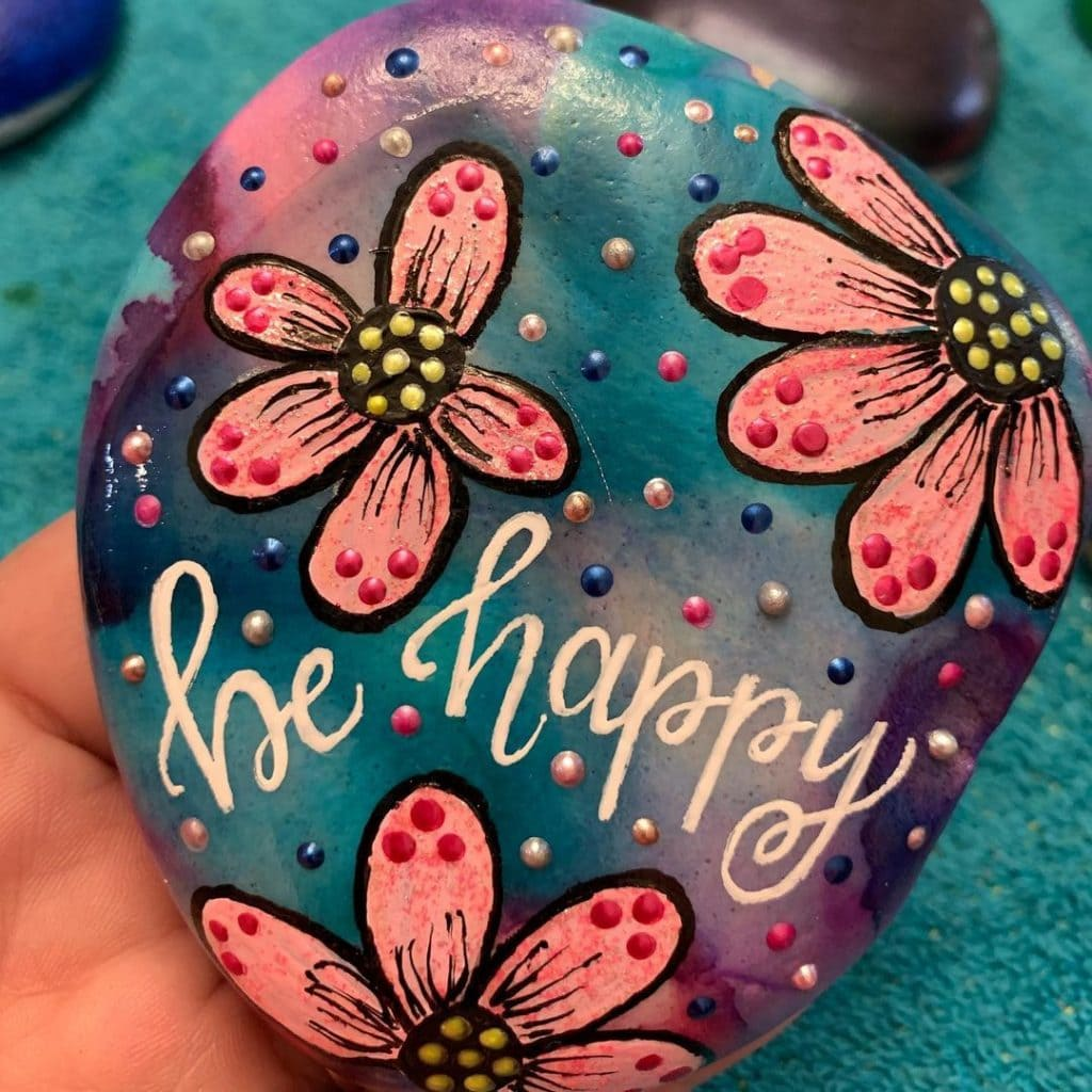 Rock Painting Ideas Quotes 1