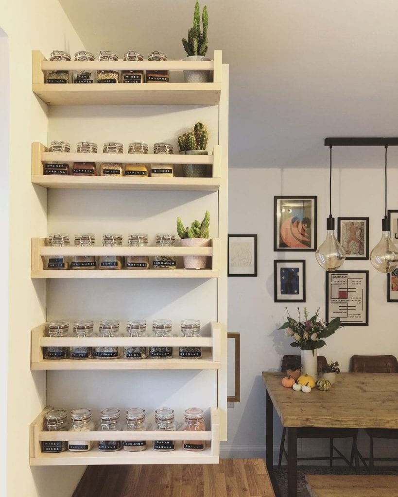 Spice Rack Ideas 12