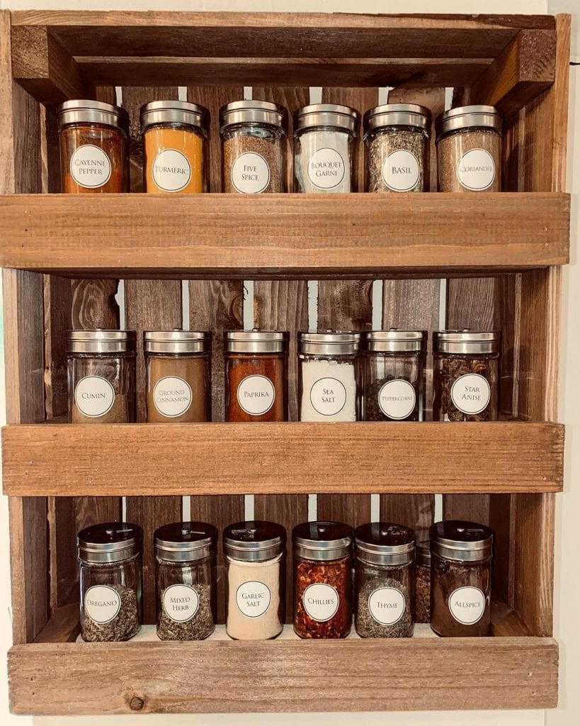 Spice Rack Ideas 20