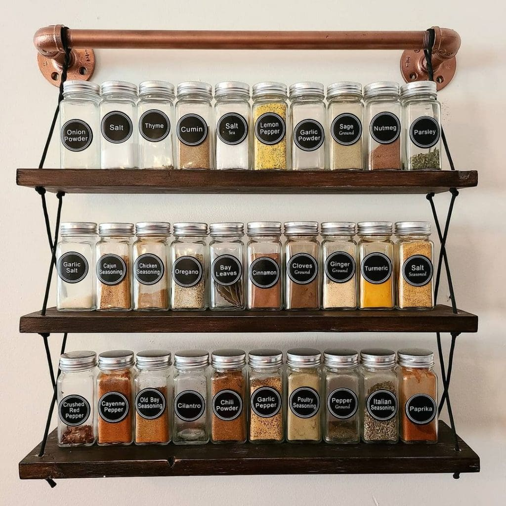 Spice Rack Ideas 23