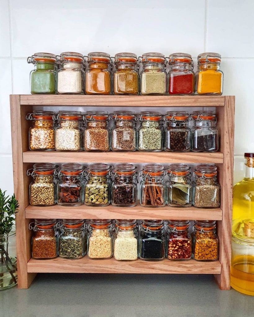 Spice Rack Ideas 24