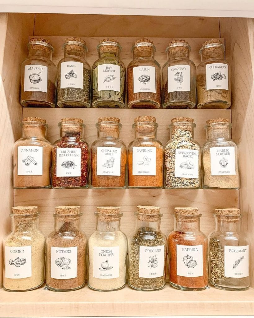 Spice Rack Ideas 29