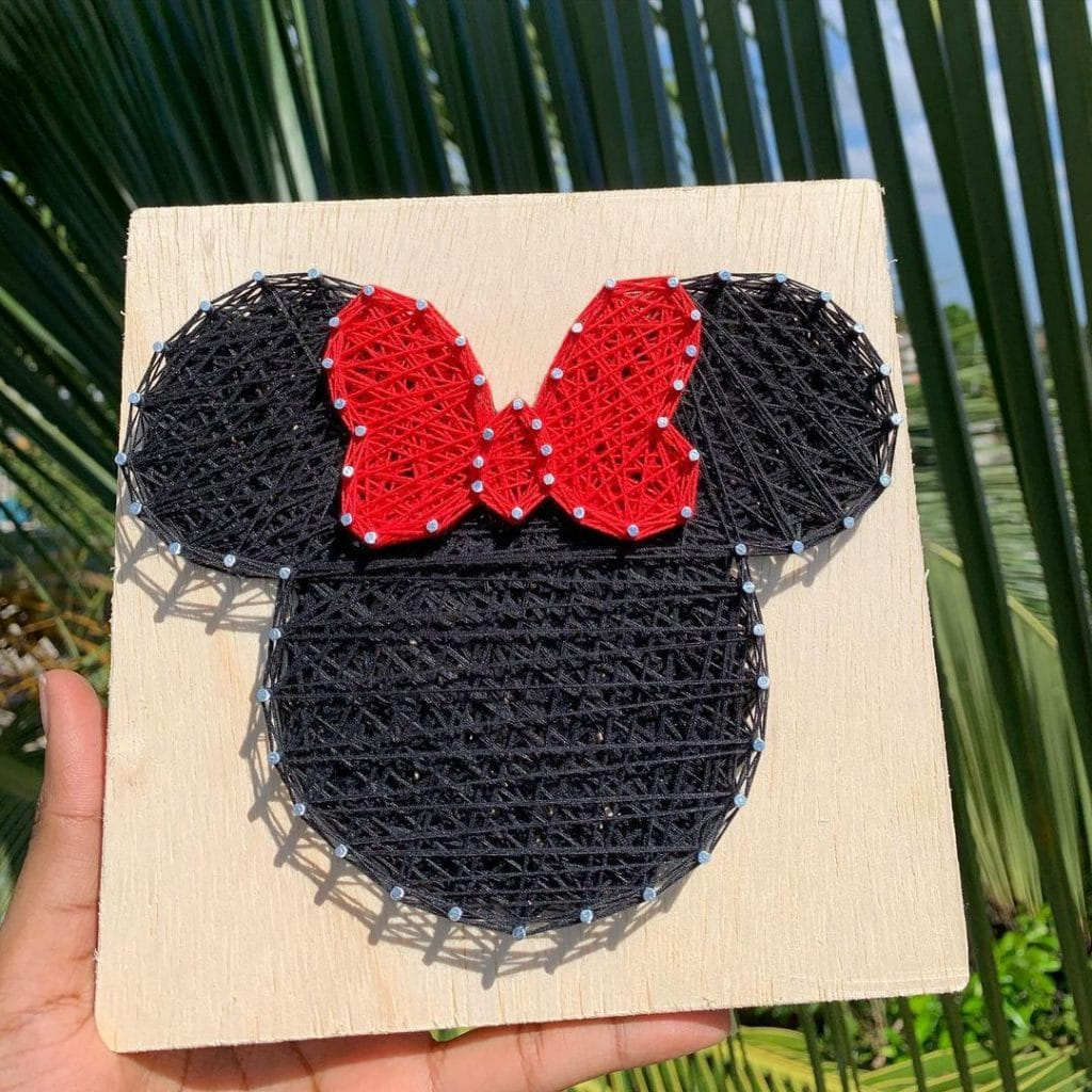 String Art Ideas characters