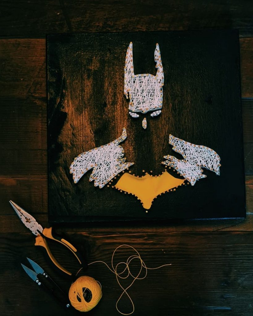String Art Ideas characters 2