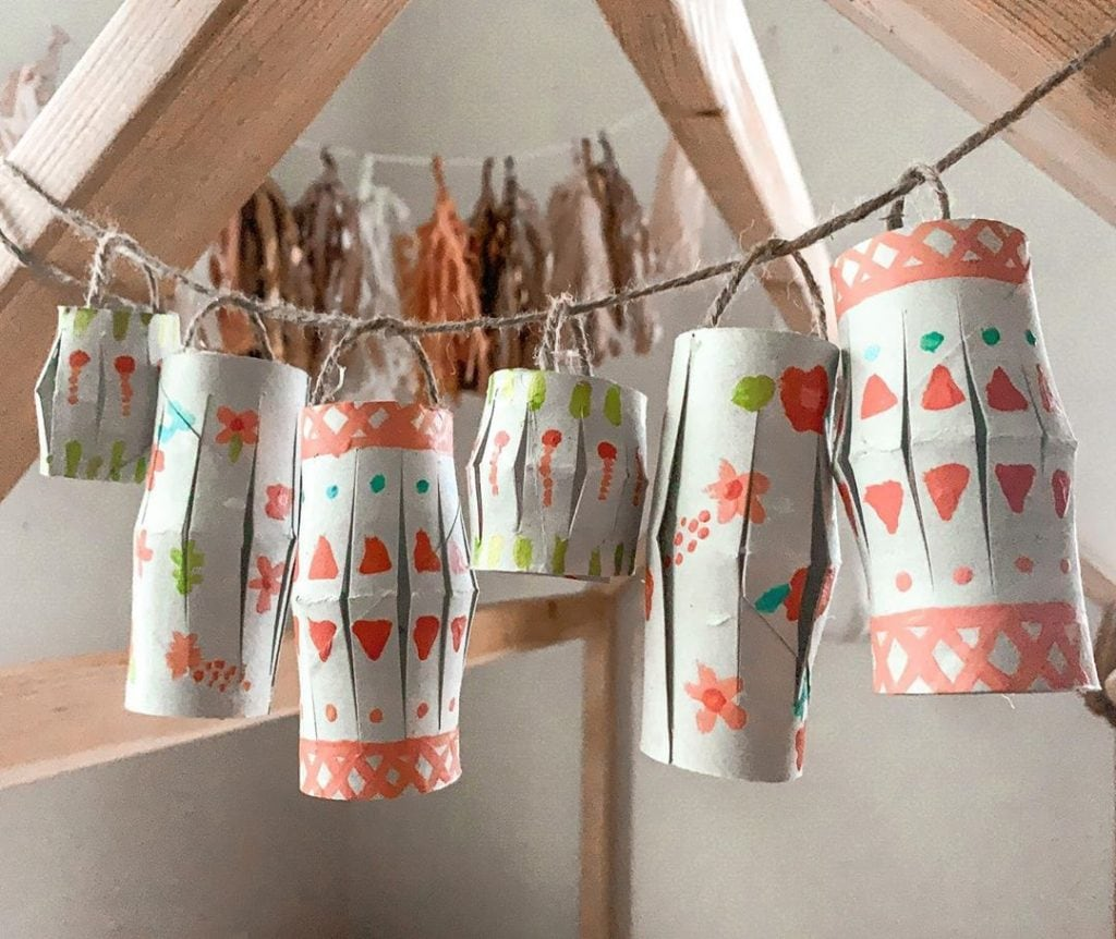 Toilet Paper Roll Crafts Decor 2