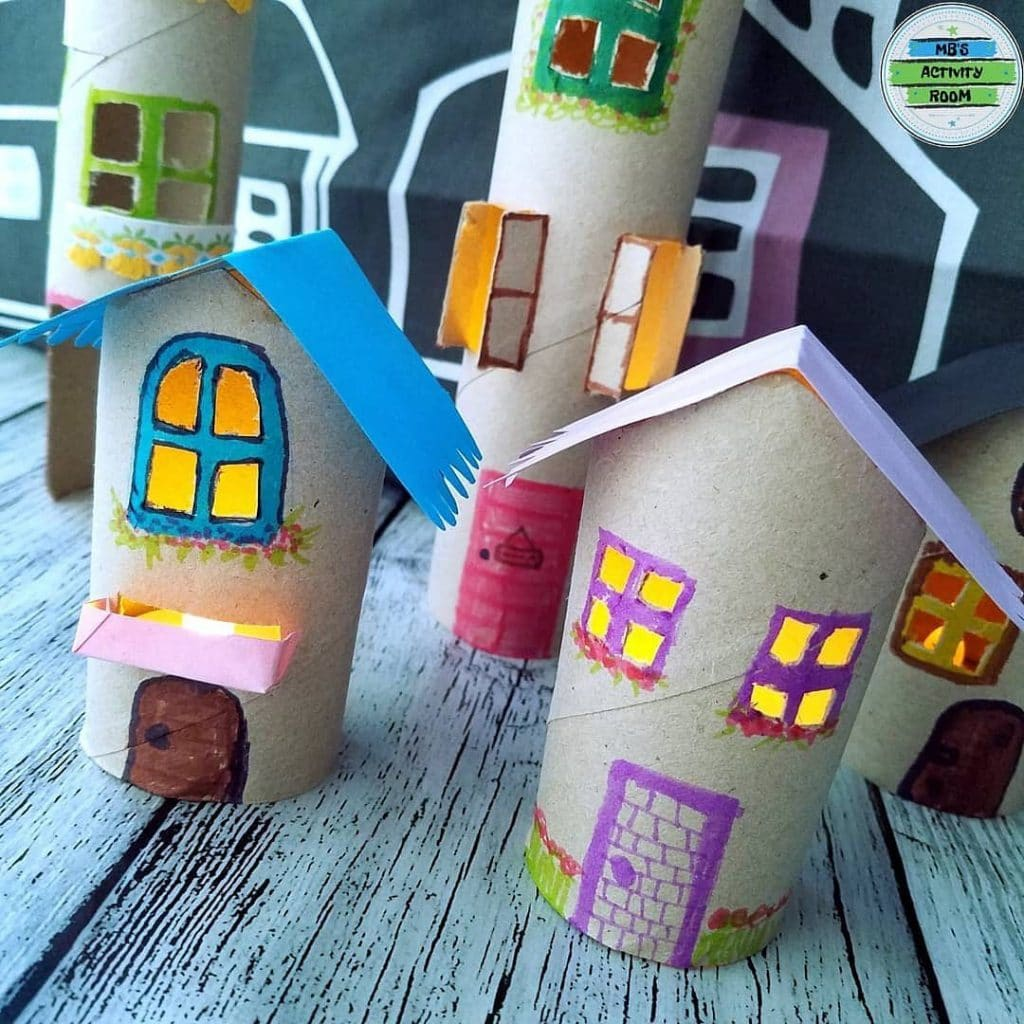 Toilet Paper Roll Crafts For Kids 5