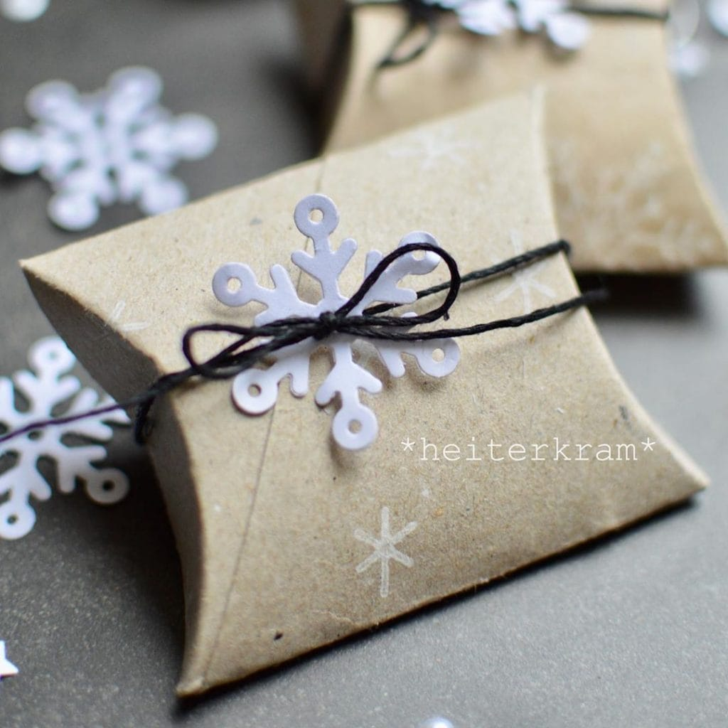 Toilet Paper Roll Crafts Gift wrap