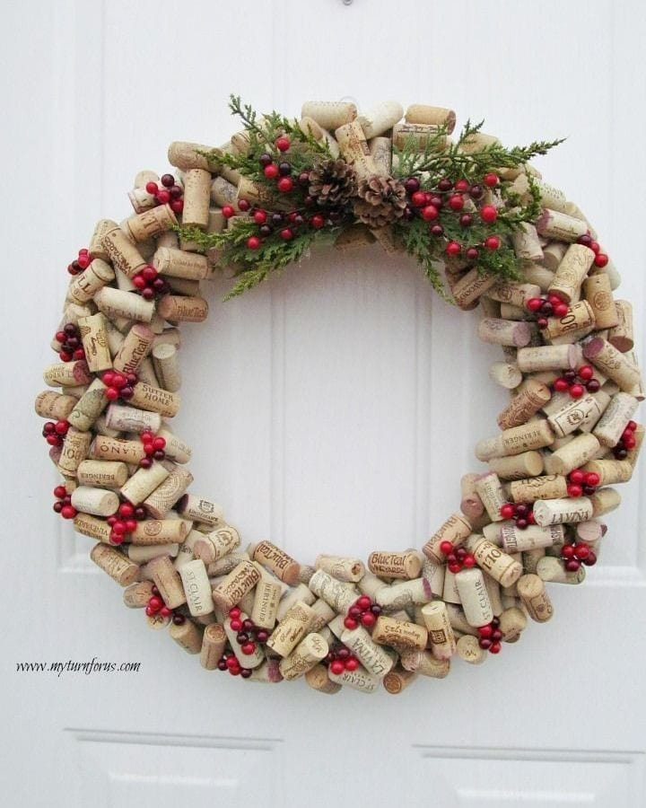 Wine Cork Crafts Christmas Decorations 1