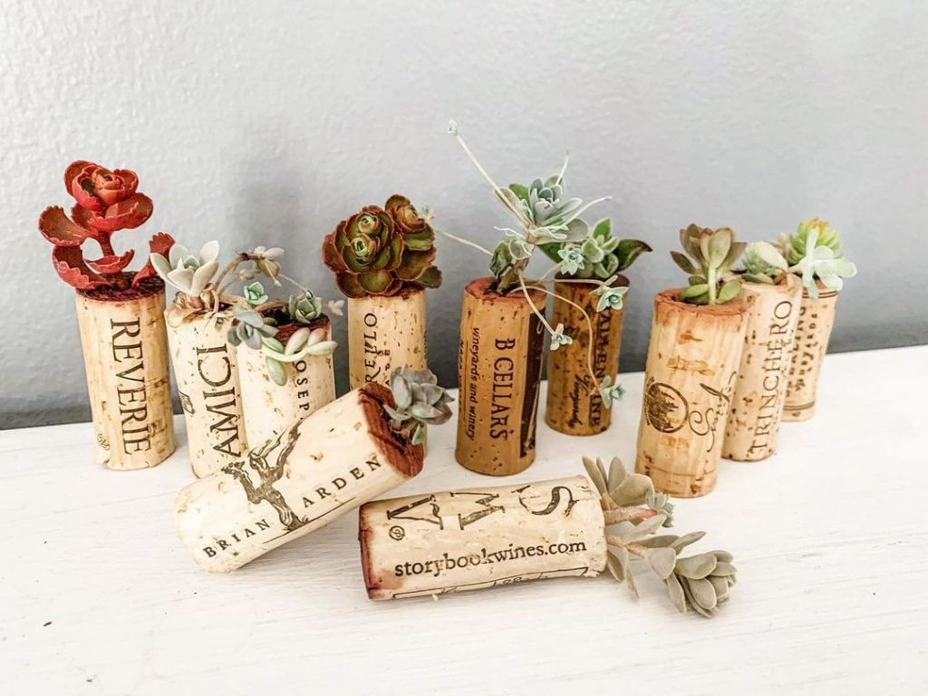Wine Cork Crafts Christmas Decorations 9