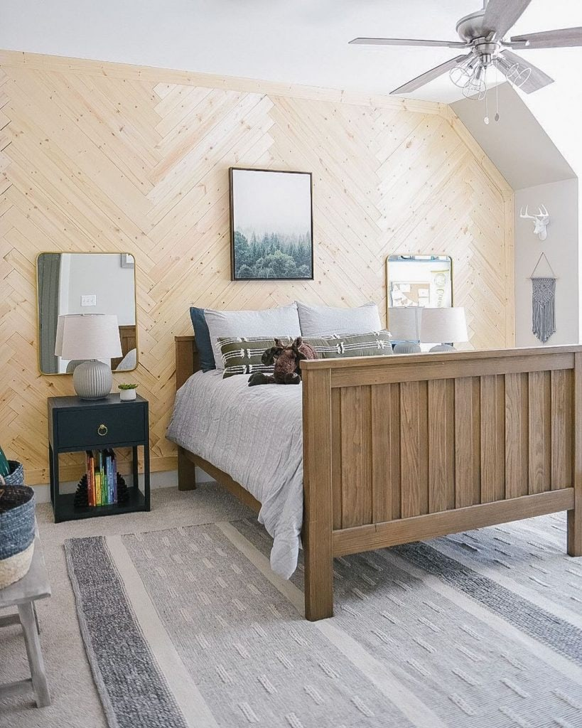 Wood Accent Wall 10