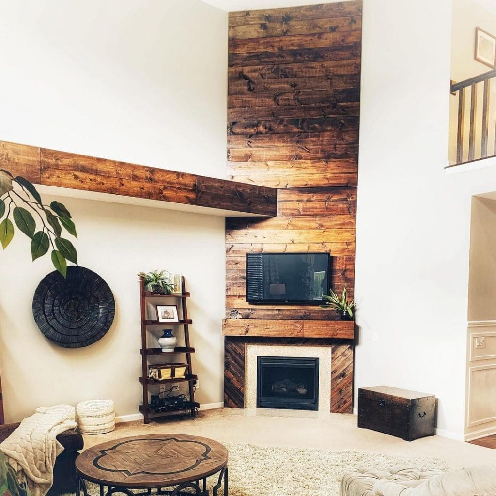 Wood Accent Wall 11