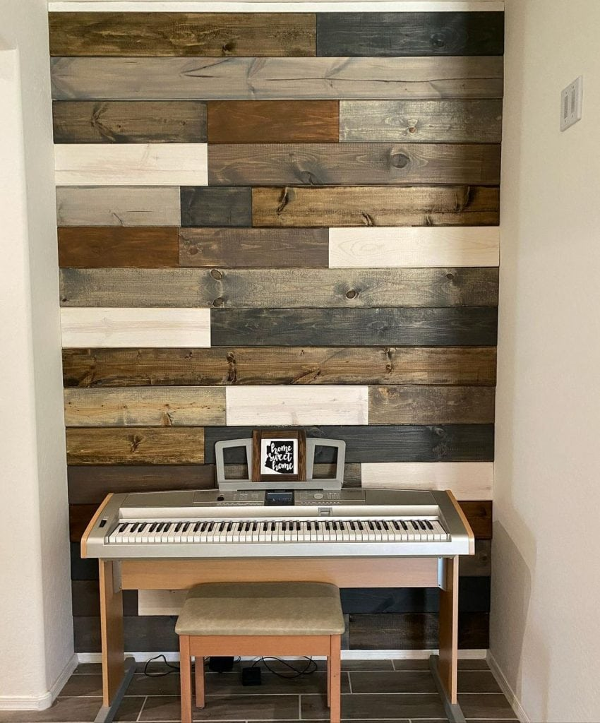 Wood Accent Wall 15