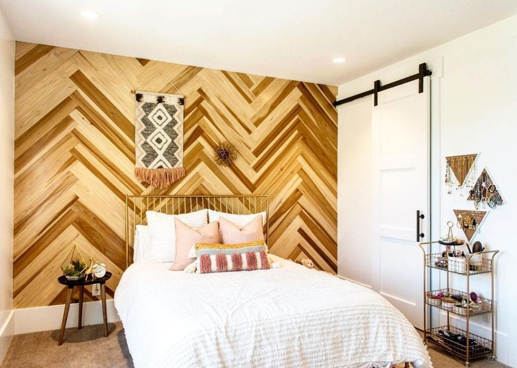 Wood Accent Wall 22
