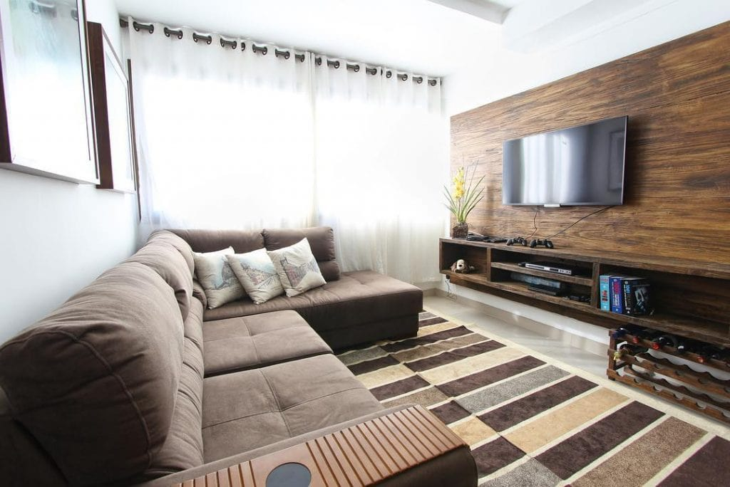 Wood Accent Wall 28