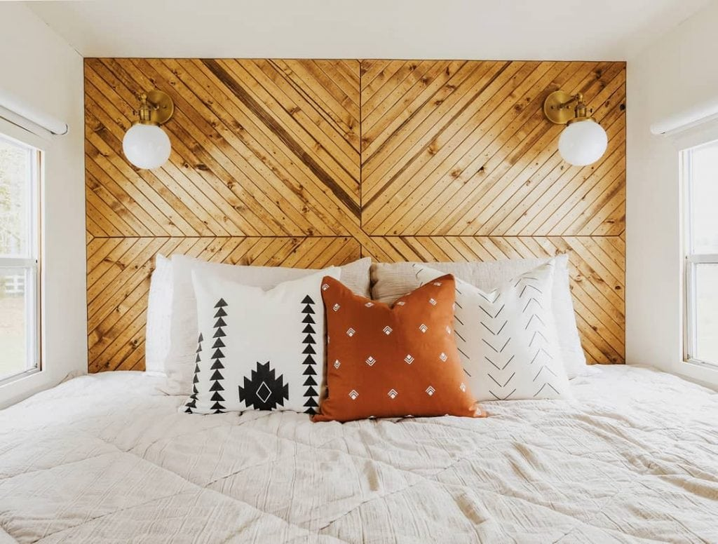 Wood Accent Wall 29