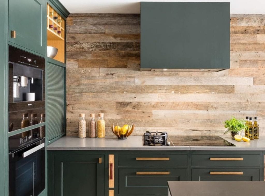 Wood Accent Wall 31