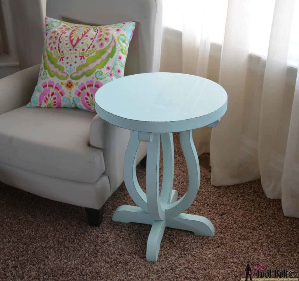 DIY End Table 22