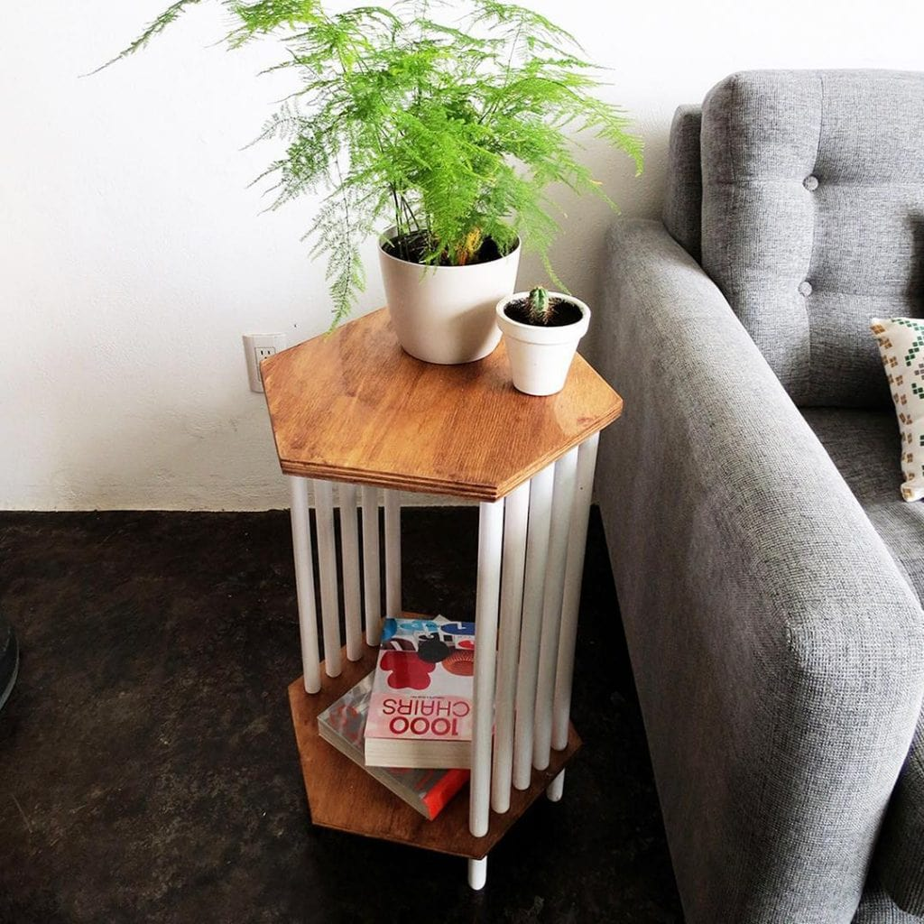 DIY End Table 30