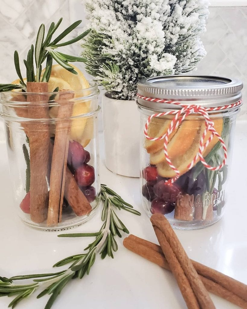 potpurri christmas mason jar crafts