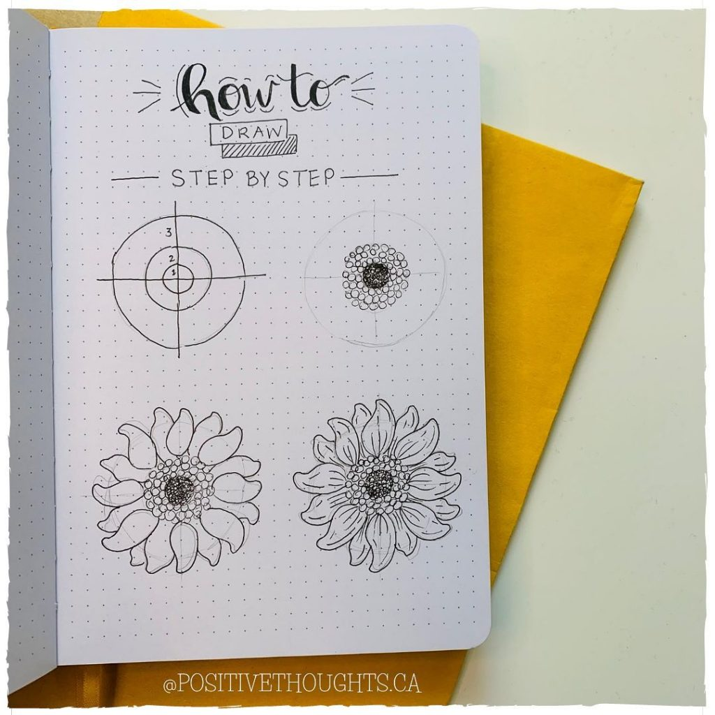 Other flower doodles to inspire you 5